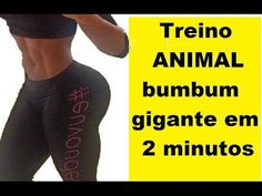 Treino ANIMAL bumbum gigante em 2 minutos - YouTube