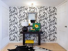 Are you fan of bold pattern walls? (JAC Interior Design)