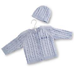 a9b9d080c25c Blue Knit Sweater. Keepsake Baby GiftsBaby ...