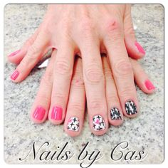 Nails by Cas #crosses