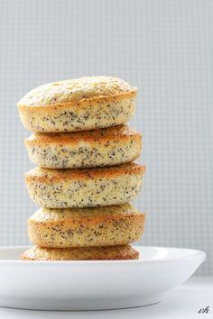 Lemon-Poppy-Seed Muffins. Die Besten!!!