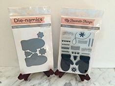 My Favorite Things Bundle Die-Namics Die+Stamp Set Cozy Mittens, MFT564+LJD43 Review