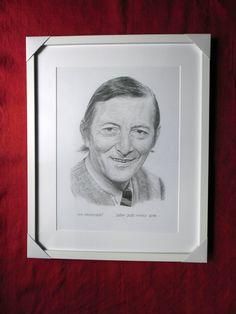 Ivan Krivosudský, portrét v ráme. Dušan Dudo Hanes