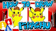 Drawing videos for kids how to draw detective famous architectures in spain . drawing videos for kids Art For Kids Hub, Food Art For Kids, Art Hub, Pikachu Art, Draw Pokemon, Drawing Videos For Kids, Cartoon Drawings Of People, 3rd Grade Art, Pokemon Pictures