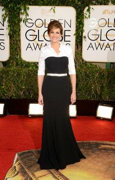 Golden Globes 2014; (WORST) Julia Roberts in Dolce & Gabbana.
