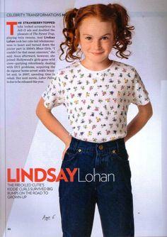 the young & sweet lindsay lohan.