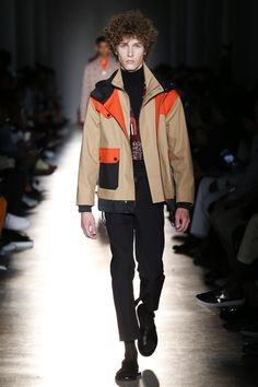 Contrast with outerwear: Ports 1961 Spring 2018 Menswear