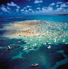 Porto de Galinhas, Pernambuco, Brasil (Check this one off the list...My HONEYMOON!!)