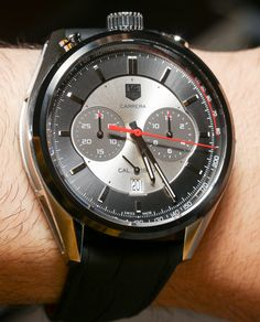 TAG Heuer Carrera Calibre 1887 Jack Heuer Edition Watch Hands-On