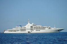 The World's Largest Yachts 2012:  Dubai  Length: 531 feet   Top speed: 26 knots   Total power: 38,500 hp