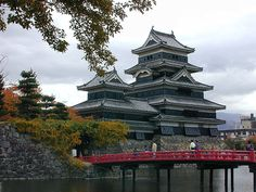 The Black Castle is one of the oldest remnants of ancient culture in Japan.