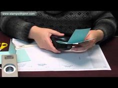 3 Easy Gift Card Holders from a One Sheet Wonder - YouTube