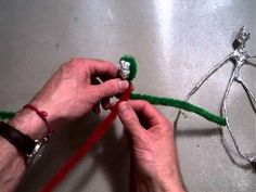 Creating Giacometti like figure and Wrapping Aluminum Foil around the Leg.MOV - YouTube