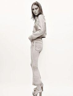 Julia Bergshoeff by Glen Luchford for Vogue Paris May 2015