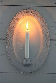 .lovely candle holder