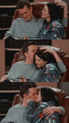 Monica Geller, Chandler Bing are soooooooooooooo CUTE❤️❤️❤️❤️ Friends Tv Show, Friends Cast, Friends Episodes, Friends Moments, Friends Series, Friends Forever, Friends Chandler And Monica, Joey Friends, Chandler Bing