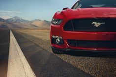 The 2015 Ford Mustang has been officially announced! This is surely the most anticipated vehicle of the year, many photos and gossip have surrounded the latest version of one of Ford´s biggest icons. Now it is official, the famous Pony car still feat 2015 Ford Mustang, Ford Gt, Mustang Shelby, Nuevo Ford Mustang, Red Mustang, Mustang Gt500, Mustang Cars, Car Ford, Ford Trucks