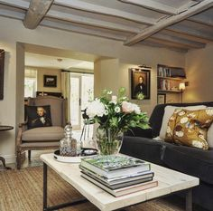 A luxury rental cottage in the Cotswolds for couples . Country House Interior, Rustic Bedroom Decor, Cotswold Cottage Interior, Home, Cotswolds Cottage, House Interior, Interior Design, Beach Cottage Decor, Luxury Cottage