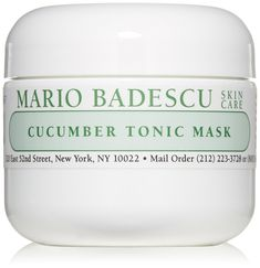 Mario Badescu Cucumber Tonic Mask, 2 oz. * This is an Amazon Affiliate link. Read more at the image link.