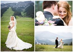 Banff/Canmore/Rocky Mountain Wedding Photographer, bride and groom outdoor portrait, norquay lookout, lake, banff bride and groom outdoor portraits,  www.kimpayantphotography.com