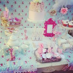 Girl Baby Shower Baby Shower Party Ideas. Shabby Chic ...