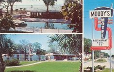 U.S. Hwy. 90 - The Southern Route 66. Gulfport, MS -1964