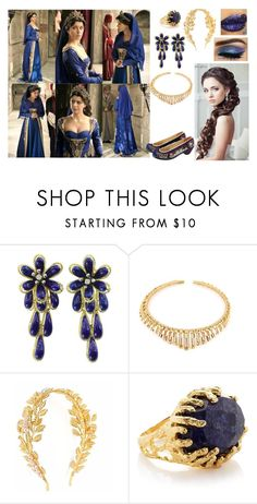 """""""Persian Starlight"""" by charlie-aw-easter on Polyvore featuring VANINA and Ottoman Hands"""
