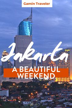Going for a weekend to Jakarta? Check here what to do, visit and eat in this amazing city in Java Island. Visiting Jakarta: How to spend a weekend