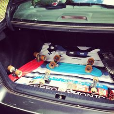 Ready to roll. #mytrunk