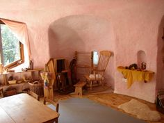 Detail of interior of Steiner kindergarten, Llanycefn by Humphrey Bolton, via Geograph