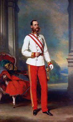 Franz Xaver Winterhalter, Kaiser Franz Josef, Franz Josef I, Joseph, Empress Sissi, Field Marshal, Military Orders, Maria Theresa, European History