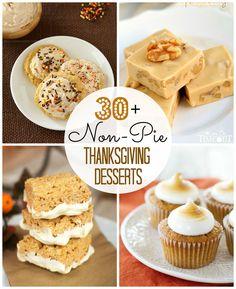 30+ Non-Pie Thanksgiving Desserts