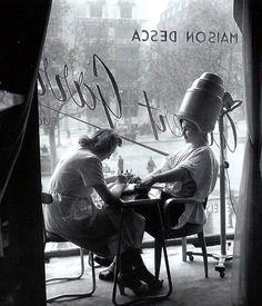 The Hairdresser  Paris circa 1950  Robert Doisneau