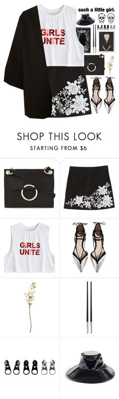 """""""*You laugh when you lie*"""" by my-black-wings ❤ liked on Polyvore featuring Karen Millen, MANGO, OKA, Christofle, Full Tilt and Eric Javits"""