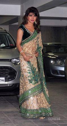 Love this Saree on Priyanka❤️
