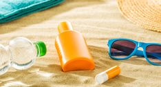 Read about Soothe Your Sunburn With These Top-Rated Products! Creative Flyer Design, Creative Flyers, Beach Accessories, Simple Makeup, Top Rated, Beauty Hacks, Beauty Tips, Summer Fun, Round Sunglasses