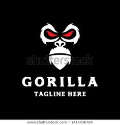 Find Simple Gorilla Head Face Red Eye stock images in HD and millions of other royalty-free stock photos, illustrations and vectors in the Shutterstock collection. Eye Logo, Red Eyes, Animal Logo, Vector File, Royalty Free Photos, New Pictures, Logo Design, Venom, Simple