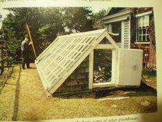 My grandparents had a partially underground greenhouse. I've always wanted one..