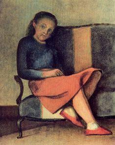 Balthus, 'Colette Sitting' (1954)