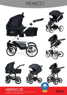 Venicci black pram 3 in 1. They're just beautiful. http://www.goskyride.co.uk/