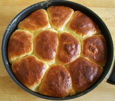 Foto Rezept Dampfnudeln aus dem Ofen