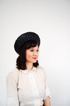Vintage 1960s Straw Hat