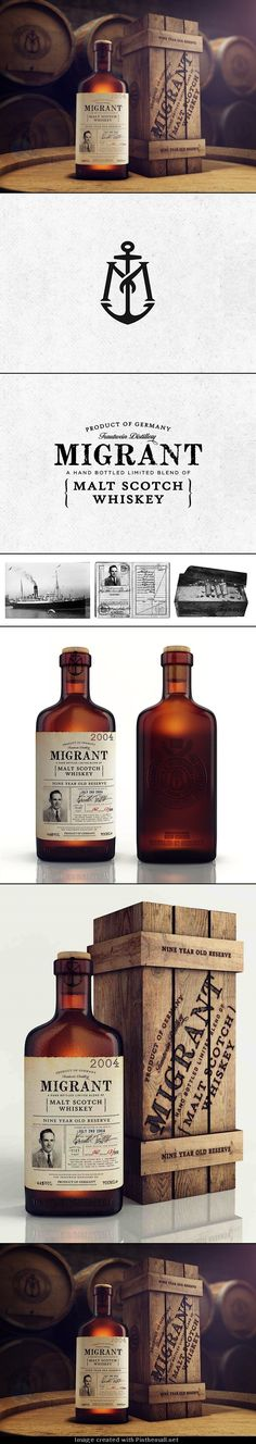 migrant malt scotch whiskey