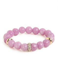 our lavender mala bracelet!