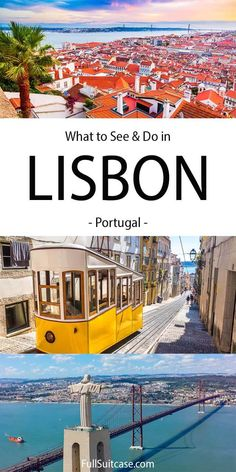 28 Absolute Best Things to Do in Lisbon (+Map & Insider Tips) Lisbon Map, Lisbon Portugal, European Destination, European Travel, Amazing Destinations, Travel Destinations, Lisbon Oceanarium, Travel Info, Family Travel