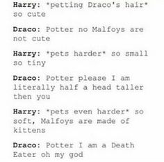 IMAGINE HARRY DOING THIS TO DRACO WHEN HE IS IN HIS FERRET FORM!!!