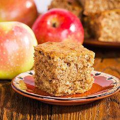 Schneller, saftiger Low Carb Apfel-Mandelkuchen