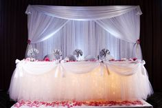 Head Table Decor by SBD Events | Flickr - Photo Sharing!