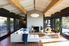 70's style mid century modern ranch with terracotta tile - coco kelley