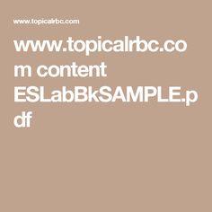 www.topicalrbc.com content ESLabBkSAMPLE.pdf